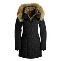 2019 Women's Down Parka parajumpers Top Copy Hoodie With Big Raccoon Fur Zipper Wholesale-New Winter Coats Women Jackets Arcticparka Angie