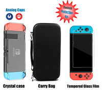 3 in 1 Nintend Switch NS Console Carrying Storage Bag + Crys...
