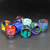 810 510 Thread Epoxy Resin Wide Bore Drip Tip Mouthpiece Vap...