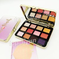 Newest faced White peach palette eyeshadow 12 color Makeup m...