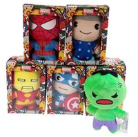 The avengers plush dolls toy spiderman toys super heroes ave...