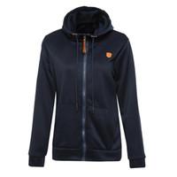 Kadın Giyim Artı Boyutu S-5XL Hoodie Palto Kadınlar Kış Sonbahar Denim Yaka Zip-up Ceket Pamuk Bayanlar Coat