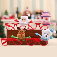 Fashion Christmas Decor Spectacles Frame For Kids Children S...