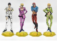 Anime Cartoon JOJO' s Bizarre Adventure Golden Wind Brun...