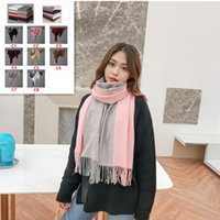 Popular Autumn And Winter Ladies Blanket Scarf Oversized Thi...