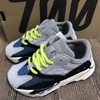 Kids Running Shoes Kanye West Wave Runner Boost 700 Youth Sp...