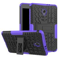 삼성 갤럭시 탭 8.0 T380 T385 T387 T377 T710 T715 태블릿에 대한 킥 스탠드와 충격 방지 TPU + 실리콘 케이스