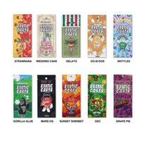 Mario Exotic Carts Vape Cartuccia Packaging Mini Mylar Bags Vape Cartridge 1gram Confezione multipla per 1.0ml AC1003 Vape Tank 510 Cartridge