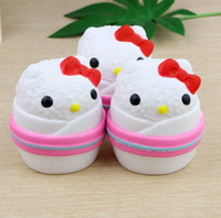 2018 New Squishy Kawaii Bear Chicken Slow Rising Toys Pendan...