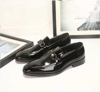 Big Size Luxury Slip On Black Shoes Real Leather Loafers Men...