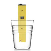 10 pz / lotto Eccellente Pocket analizzatore di tipo display digitale ph Meter piscina di qualità dell'acqua tester test di acidità