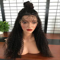 Best Fashion Kinky Curly Full Lace Wig 8- 26 Inch In Stock Pe...