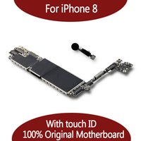 Para iPhone 8 64GB / 128GB Motherboard con sistema IOS Fingerprint, para placa madre con placa lógica para iPhone 8 con Touch ID