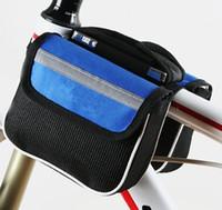 Bolso Equipo Classic Paquete de montaña Bilateral Marco de montar Montar Bicicleta Frente Bicicleta Nuevo Tubo Beam Bike DWLSK