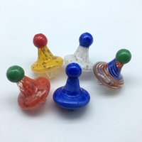 New Glass Carb Cap With Witch Hat Carb Caps For XL XXL Flat ...