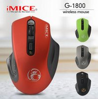 Wireless Mouse 2. 4G 1600DPI USB Optical Gaming Mouse Gamer M...