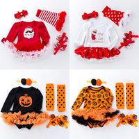 81e364256 Wholesale baby first christmas outfit newborn for sale - Group buy Newborn  Christmas Hallween Rompers Infant