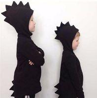 Yeni Çocuk Boys Dinozor Ceket çocuk Hoodies Kız Tişörtü Çocuk Kapüşonlu Ceketler Dino Çocuk jumper Kostümleri Y432 Tops