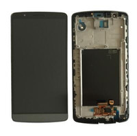 de alta calidad para LG G3 G4 D820 LCD Display con pantalla táctil Asamblea digitalizador con marco