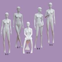 La mejor calidad Maniquí de estilo diferente Maniquí de fibra de vidrio Lustre blanco maniquí de las mujeres en venta