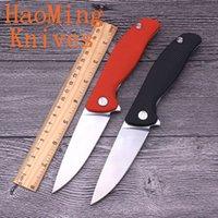 Herramienta de mano práctica de supervivencia al aire libre D2 hoja manija de plástico ABS cojinetes de bolas flip tactical cuchillos plegables caza camping regalo utensilios de cocina
