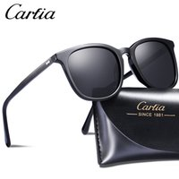 Carfia 5358 polarized sunglasses square designer sunglasses ...