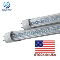 Stock in US + 4ft led tube 22W 28W Warm Cool White 1200mm 4f...