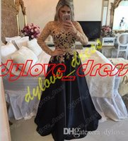 2018 sexy cheap black dress lace dress long sleeve prom dres...