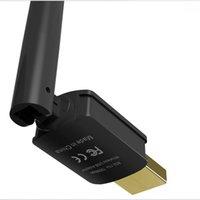 محول USB WIFI 150Mbps عالية مكاسب 6DBI WIFI هوائي 802.11N لمسافات طويلة USB Wi-Fi استقبال بطاقة شبكة إيثرنت