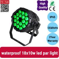 방수 18 * 10w 파 야외 핫 판매는 DJ 무대 빛 LED 파 라이트 IN1 (4) RGBW 수 있습니다