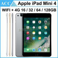 Reformiert Original Apple iPad Mini 4 WIFI + 4G Cellular 16GB 32GB 64GB 128GB 7,9 Zoll Retina Display ISO A8 Chipsatz Tablet PC DHL 1pcs