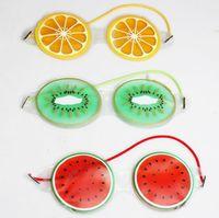 الشحن مجانا الجليد هلام قناع العين الباردة ضغط لطيف الفاكهة هلام العين التعب الإغاثة تبريد العين الرعاية الاسترخاء