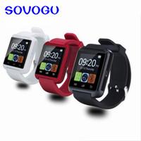 휴대 전화 4 / 4S / 5 / 5S / 6 및 샘 성 S4 / 참고 / s6 HTC 안드로이드 전화 U8 Smartwatch위한 SOVO SG72 손목 시계