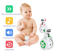 Tumbler Robot Baby toys with voice control Intelligent Music...