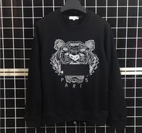 New Brand Hoodies Mens Sweatshirts Tiger Head Embroidery Win...