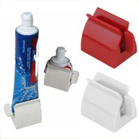 Tubo rodante Pasta de dientes Exprimidor Pasta de dientes Dispensador fácil Asiento del soporte Soporte Accesorios de baño Herramienta de alta calidad 1PC