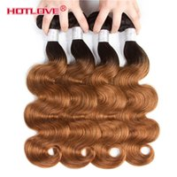 Brazilian Ombre Hair Body Wave 4 Bundles Deal 100% Human Hai...