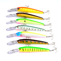 Alta Radiación Streamline Crankbaits Ganchos 15.3cm 16.8g 7 colores Isca Artificial Alice lip Fishing Lures BASS Swimbaits