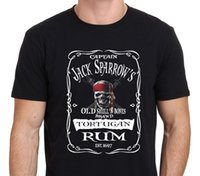 T-shirt superior do pardal de RUM Jack do T