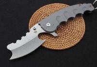 MOW Dev canavar katlama bıçak D2 adam 1pcs için Çelik Kol Kamp Pocket Knife Survival avcılık Açık Bıçaklar Noel hediyesi bıçağı bıçağı