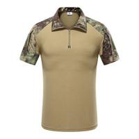 Combate Mege Tactical camuflagem Army Men Polo Shirt, rápida assalto Acu Multicam Mens Tops Tees, Airsoft Paintball Polo tamanho S-XXL