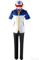 Costume Cosplay Ash Ketchum Satoshi Style
