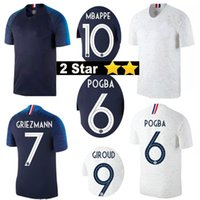 2 Stars 18 19 Pogba Soccer jersey Home Away Maillot De Foot ...