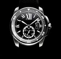 Top Qualité Luxe Hommes montres Diver W7100056 Auto 42mm Cadran Noir Saphir Date Hommes Bande En Caoutchouc Automatique Machines Sport Montres-Bracelets