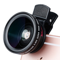 37mm 0.45x super wide angle lens com lente macro para iphone 7 7 p 8 8 p x samsung s8 s9 s10 lente da câmera