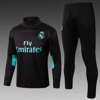 Real Madrid tracksuit 2018 Best quality survetement S_3XL tr...