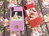 New For iPhone X 7 6S Luxury brand dream princess phone prin...