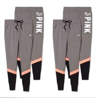 Pink Letter Pants Women Love Pink Sports Pants Leggings Yoga...