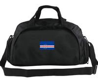Верде вещевой мешок Республика Кабо флаг тотализатор Национальный рюкзак Страна баннерной 2 пути использования багажа Спорт плечо вещевой знак строп пакет