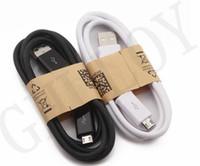 마이크로 5 핀 USB 데이터 케이블 라인 라이트 코드 어댑터 충전기 와이어 1M 3FT 안드로이드 전화에 대 한 삼성 S6 노트 2 4 저렴한 가격 100pcs